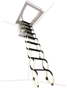 Půdní schody rozměry
